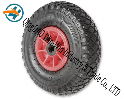"10""X3.50-4 Pneumatic Rubber Wheel for Barrow Wheel"
