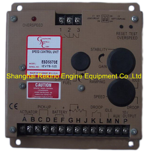 GAC ESD5570E speed controller control unit