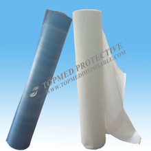 Medical Supplies PE Laminated Paper Table Couch Roll ,waterproof for Hospital