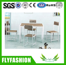 Coffee shop furniture coffee tables and chairs (DT-18)