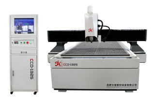 Contour Cutting CNC Router, Partner for UV Printer, CNC Machine with CCD