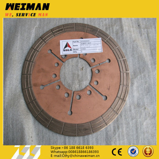 Sdlg Wheel Loader Spare Parts 2030900020 Drive Disk Ass′ for The Second Speed