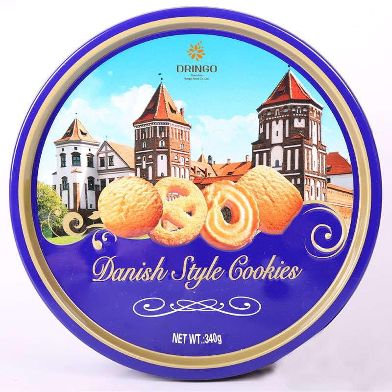 Everyday 340g Round Tin Can Danish Butter Cookie
