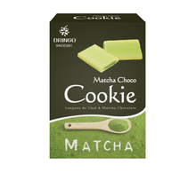 Matcha Chocolate Cookie Langue de Chat & Match Chocolate