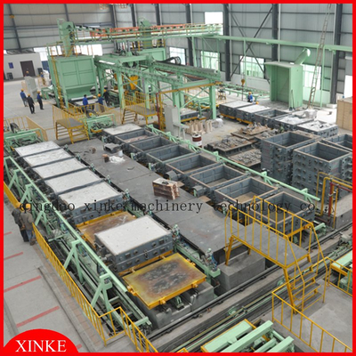 Vacuum Sand Moulding Machine in Foundry