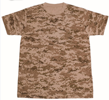 1308-3 Cotton Desert Digital Camoufalge T-Shirt