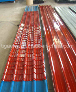 Top Grade Factory Price Glazed PPGI/PPGL Steel Roofing Sheet
