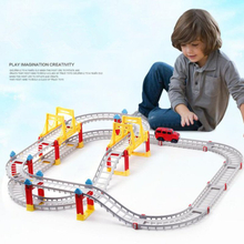 Toys for kids DIY electric assembly city rail car boys toys for children