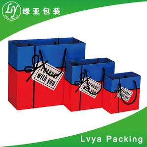 China Factory Wholesale Durable Colorful Low Cost Paper Bag