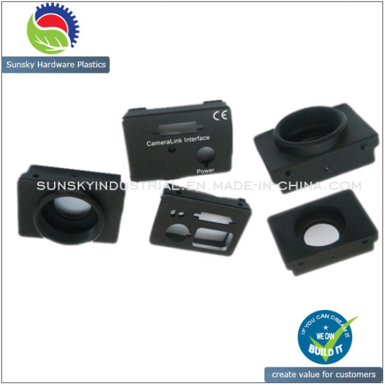 CNC Aluminium Machined Parts for Camera Lens Mount (AL12015)
