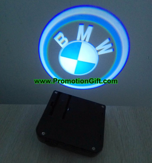 Auto door logo projector lights