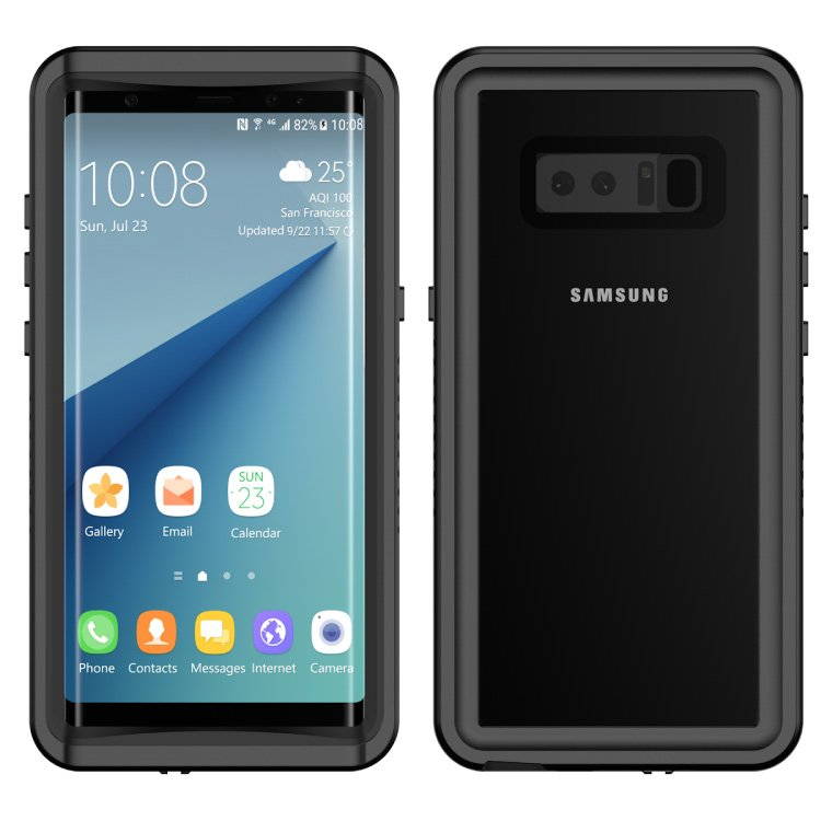 FS Dropproof Waterproof Phone Case for Samsung Galaxy Note 8