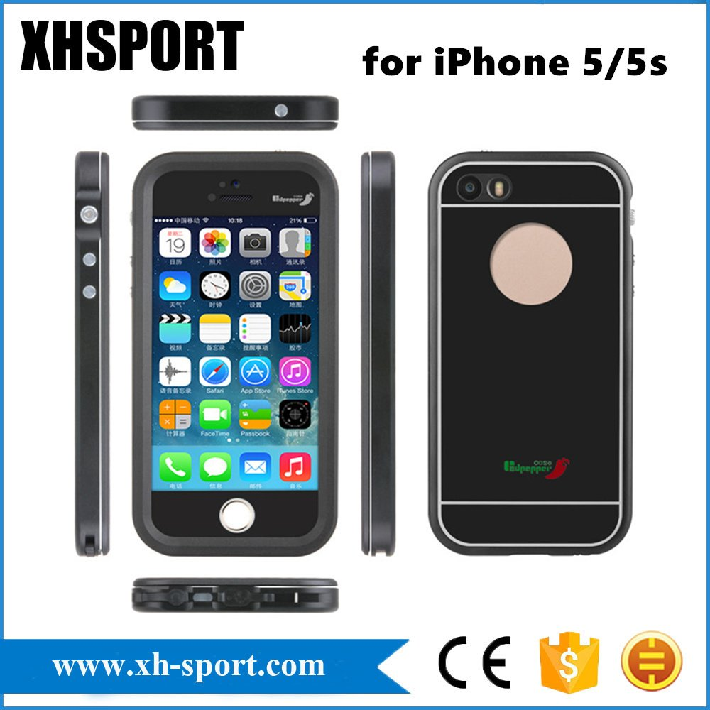 Slim Full Body Protection Waterproof Mobile Phone Case for iPhone5