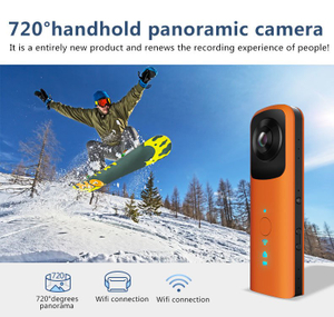 Dual 360 Degree Lens Panoramic Sport Camera