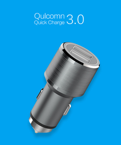 QC 3.0 Fast Car Charger Quick Charge 9-12V 3A Qulcomn Dual USB Phone Charger