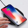 Fast Charge Round Shape Universal QI Cell Phone Wireless Charger for iPhone