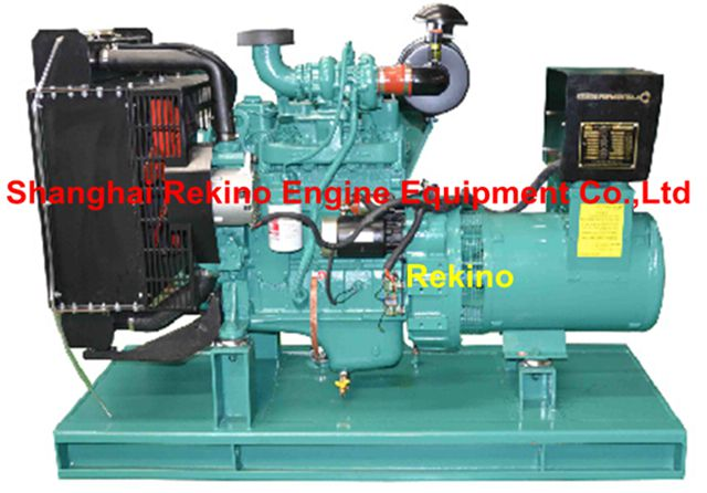 Cummins 0-70KW 60HZ land small diesel genset generator set