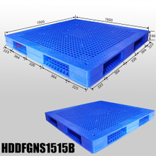 Double faced ,Stackable pallets,plastic board L1500*W1500*H150mm