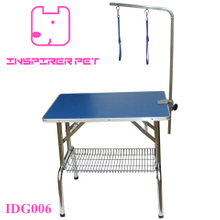 Stainless Steel Pet Dog Grooming Table with Adjustable Arm