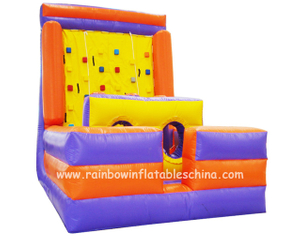 RB13013(5x3.8x4.5m) Inflatable Climbing Mountain/ Inflatable Customized Climbing Wall Game