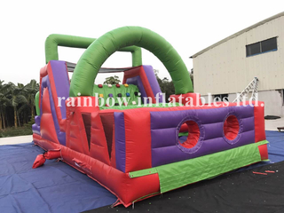 RB5042(8x4m) Inflatable Commercial Obstacle Course/ Cheap Inflatable Obstacle Course