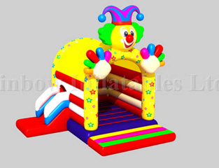 RB01031( 3x4m )Inflatables Clown Bouncer Small Bouncer for Kids