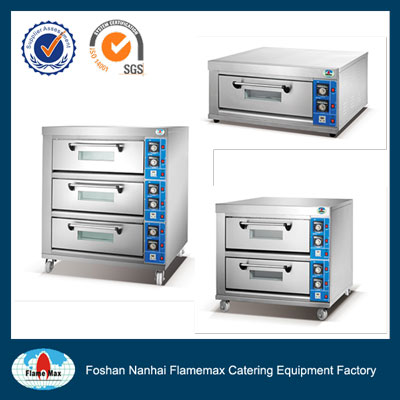 HEO-8B Strong quality electric baking oven-Flamemax