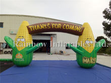 RB21042(8.43x4m)Inflatable Corn Arch for Advertising