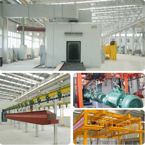 Crane Manufacturing Machines and Manufacturing Line 1