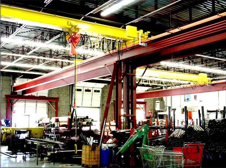 Ebon Crane for Steel Industry