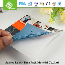 Heat transfer private pet products white or color label tag printer