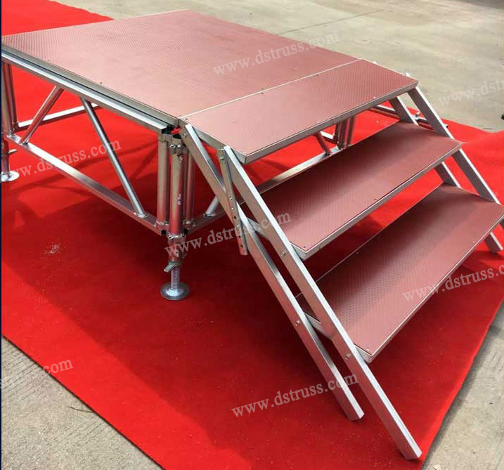 Aluminum Alloy Assembled Stage