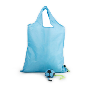Foldable football shopping bag