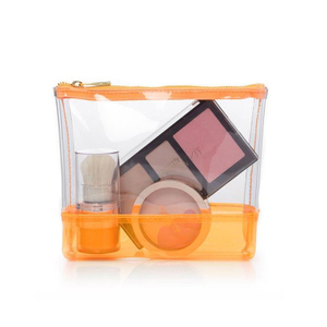 Clear Zippered Pouch Clear Makeup Bag