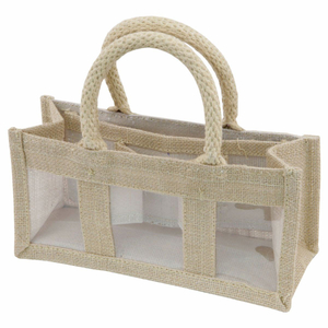 Jute Bags 2 Jars Gift Bags With 3 Widows