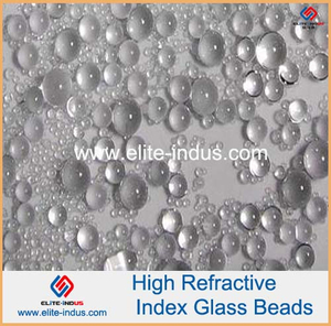High refractive glass Microspheres