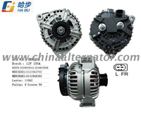 Alternator for Bosch Mercedes Benz 12V 150A Lester 11042 0124615014
