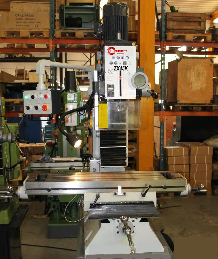GEARED DRILLING AND MILLING MACHINE ZX45K
