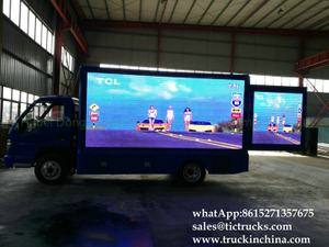 LED show mobile advertise truck PROMOTIONAL CAR export to RWANDA FOB price