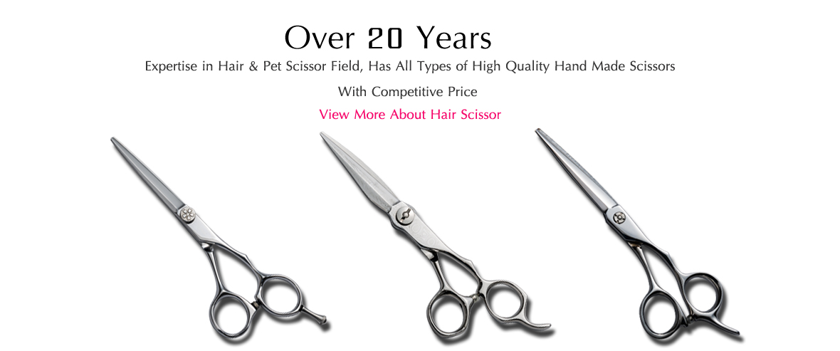 20 years hair scissor