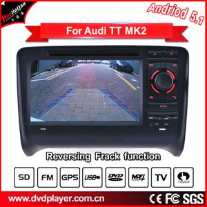 Android 5.1/1.6 GHZ CAR DVD GPS For  Audi TT  radio Navigation
