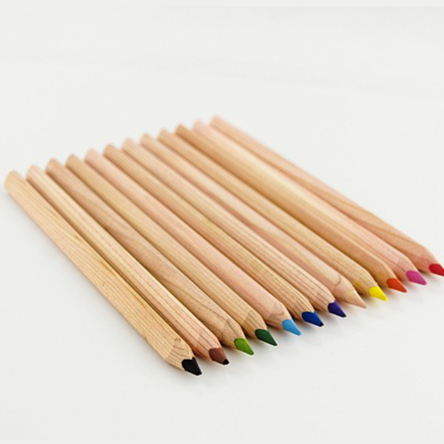 The green environmental protection does not have pollution multicolor rainbow water-soluble pencil B89