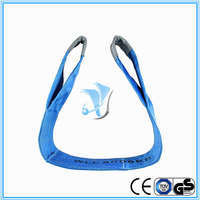 8000kg Polyester Webbing Slings Eye-Eye Type to EN1491-1