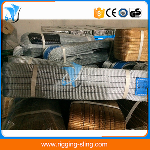 4T Polyester flat webbing sling