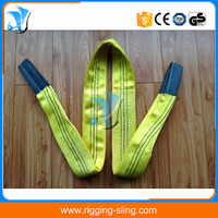 EN1492-1 crane lifting strap belt