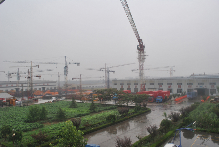 Classification and usage of building tower cranes