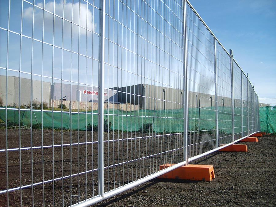 Australia Hot dipped galvanized temporary fence/construction
