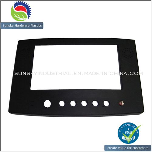Injection Molding Plastic Case Frame for LCD Display (PL18043)