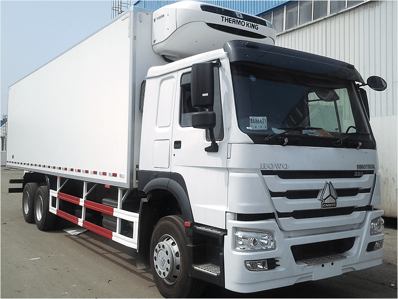 HOWO 6X4 cold refrigerated trucks for sale for sale-Sinotruk