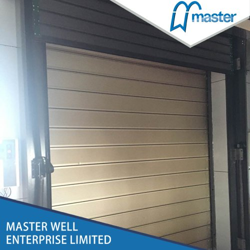 Aluminum Spiral Fast Roller Door & Aluminum Spiral Fast Roller Door - Buy high speed rolling door ...